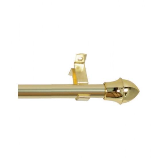 Κουρτινόξυλο Πτυσσόμενο Ø12 Briz-Briz Χρυσό