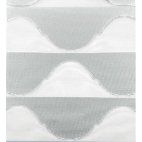 Ρολοκουρτίνα Διπλή 3D Harmony Γκρί