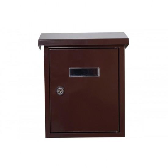 Γραμματοκιβώτιο  Καφέ TX-082
